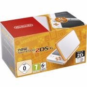 consola new 2ds xl blanco/ naranja