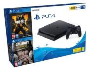 consola play station ps4 1tb+bl+w