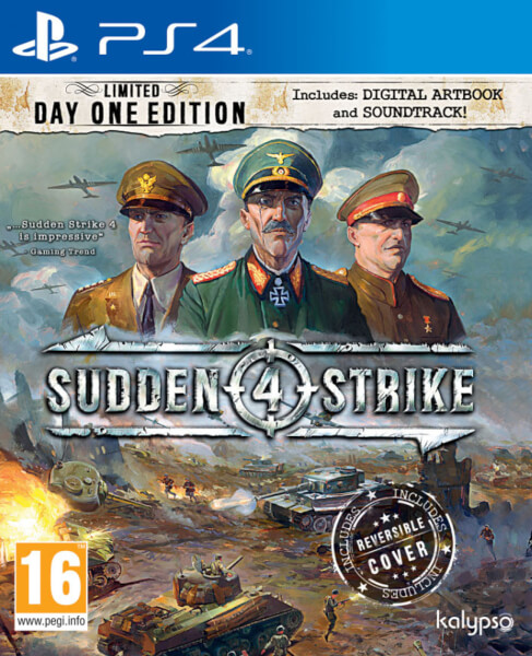 juego ps3 sudden strike IV