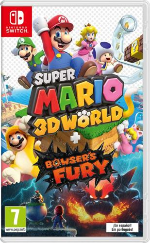Juego Mario 3D World + Bowser Fury SWITCH