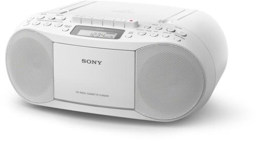 Reproductor portátil SONY CFD-S70 Blanco